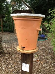 Ancient Greek ceramic hive (replica)