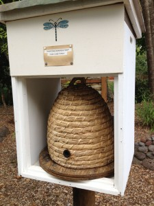 Skep hive, traditional to pre-medieval days